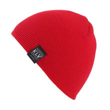 Hot Sale Children Warm Wool Cap Solid Color Knitted Beanie Hat for Spring Autumn Winter(China)