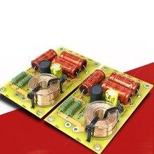 2 sztuk nowy Multi głośnik Audio dzielnik częstotliwości 2/3 Way filtry Crossover treble alto bass