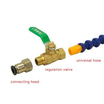 Труба водяного насоса хладагент трубы шланг 75 Вт 3,2 м для токарного станка фрезерный гравер-машина с ЧПУ