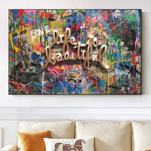 Картина с надписью «life is beautiful watercolor» Раскрашивание