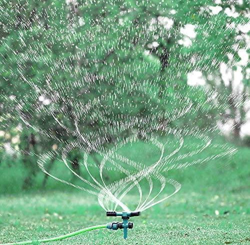 Автоматическая сад спринклерные 360 градусов вращающийся разбрызгиватель для лужаек во дворе разбрызгиватели садоводство полив система орошения дождеванием