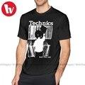 Techno T Hemd Technik 1 T-Shirt Kurzarm 100 Baumwolle T Shirt Plus größe Drucken Casual Mann Genial T-shirt