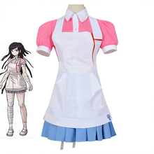 Dangan Ronpa 2 Conjunto de disfraz para mujer y niña, disfraz de Cosplay de Danganronpa Mikan Tsumiki