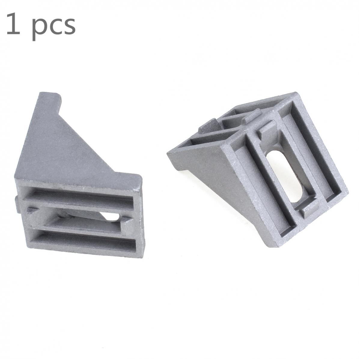 4040 Aluminum Corner Angle Code With Nut Hole Support T-slot Profile Frame Extrusion Bracket For Connecting The Flow Profile