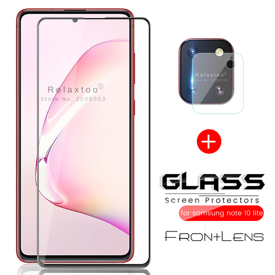 2-in-1 For Samsung Note 10 Lite Glass Protective Camera Protector For Samsung Galaxy Note 10 Lite Light 2020 Sm-n770f 6.7'' Film