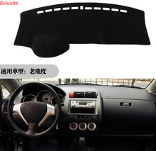 For Honda Fit Jazz 2004-2007 Dashboard Cover Mat Dash Pad Anti-UV Sun Shade Auto Instrument Cover Carpet Car Styling Accessories()