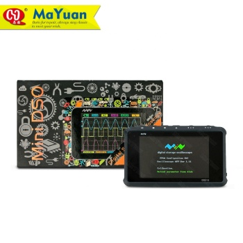 Miniware DS213 Professional Portable MINI 4 Channel Digital Oscilloscope 100MS/s hantek 3in1 2d72 2c7 2d42 2d72 250msa s digital oscilloscope waveform generator multimeter usb portable 2 channel multifunction