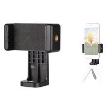 Адаптер для крепления штатива, держатель для мобильного телефона, вертикальный штатив 360, подставка для iPhone, xiaomi, для камеры, ленивый держатель, Dropship