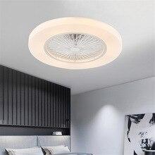 Потолочный вентилятор+ лампа с дистанционным управлением для гостиной, спальни, декоративное освещение, Wi-Fi приложение, контроль хорошего сна, 110 В/220 В