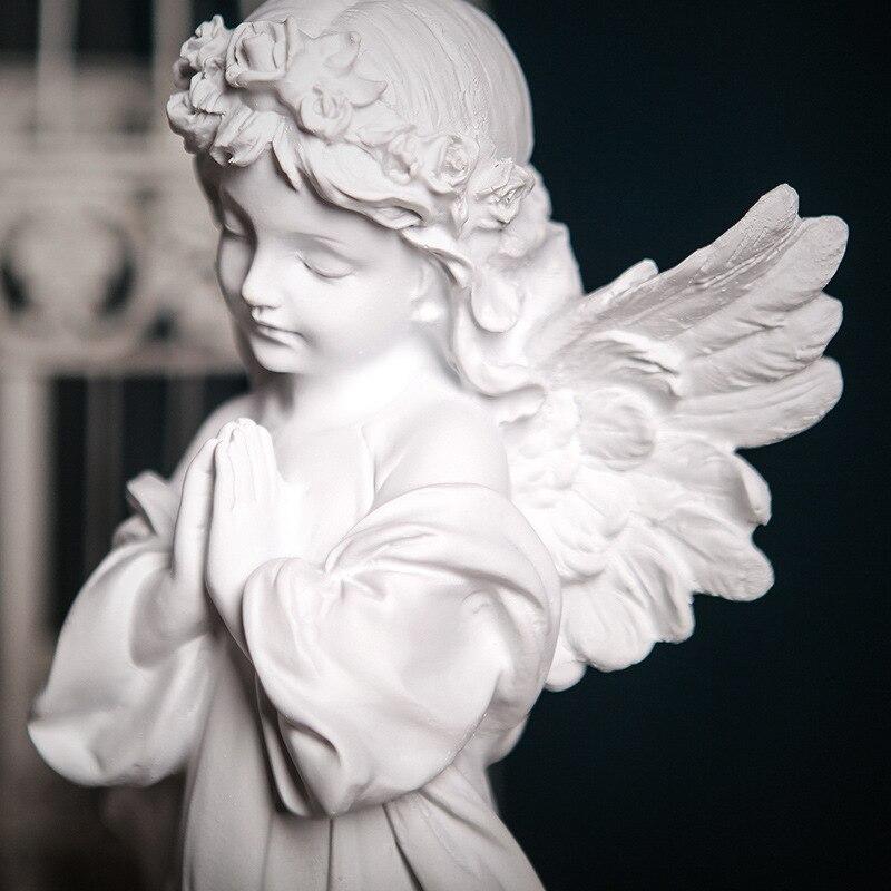 Praying Angel Decor Tabletop Decor Thinking Angels Decoration Sleeping Angels Home Decor Accessories European Style Hot Promo B9ac Cicig