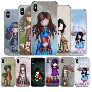 Cartoon Lovely Santoro Gorjuss Coque TPU Soft Silicone Phone Case For iPhone 11 Pro Max X XS MAX 8 7 6 Plus 5 5E SE(China)