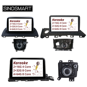 Image 1 - SINOSMART navigateur GPS, pour voiture Mazda 3 Axela (8.1 2014) et Mazda 6 Atenza (2019 2016), Android 2019, 4 cœurs/8 cœurs, CPU, 2G
