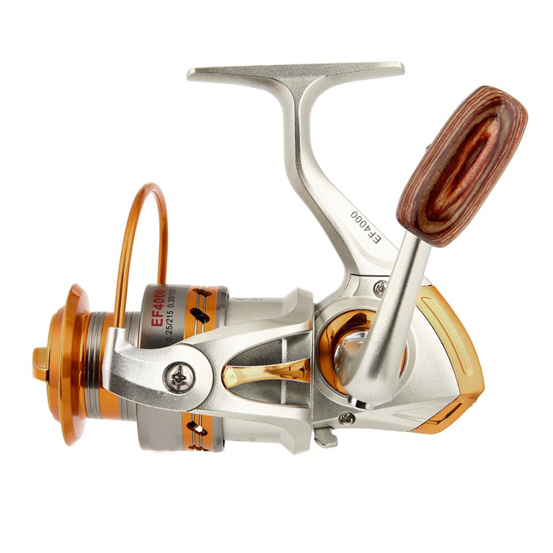 New Metal Spinning Fishing Reels Fly Wheel Fishing Metal Rocker Reel Spinner Fishing Salt Water Fishing Tool Accessories