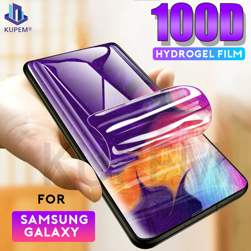 100D Hydrogel Film For Samsung Galaxy A40 A60 A70 A50 A10 A51 Screen Protector S20 Ultra S10 Plus S10E Soft Protective Not Glass 1