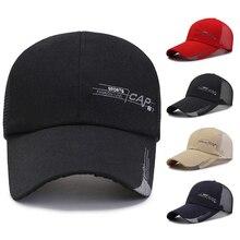 Hat Snapback-Hats Running Visor-Cap Baseball Quick-Drying Sport Summer Outdoor Mesh Adjustable