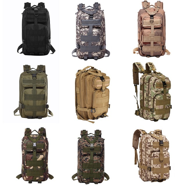 Nylon Tactical Backpack Military Backpack