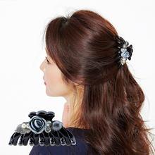 Химера трендовые акриловые Когти для волос синий цветок заколки