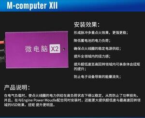 Image 2 - M COMPUTER XII, güç yükseltme yakıt tasarrufu geliştirmek için motor yanık verimli, kıvılcım amplifikatör için özel MG 1.5T