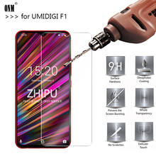 25 Pcs Tempered Glass For UMIDIGI F1 Screen Protector 2.5D 9H Premium Protective Film