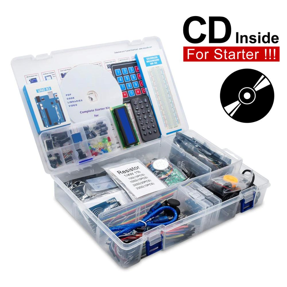 RFID Starter Kit for Arduino UNO R3 Upgraded version Learning Suite Retail Box UNO R3 Starter Kit RFID Sensor For Arduino