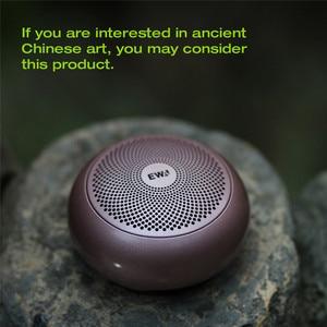 EWA A110mini беспроводной Bluetooth динамик портативный Встроенный аккумулятор громкий звук сильный бас металлическое покрытие