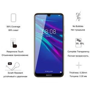 Image 3 - זכוכית עבור Huawei Y6 2019 / Y6 פרו/Y6 ראש 2019 מזג זכוכית מסך מגן עבור Huawei Y6s 2019 מגן זכוכית