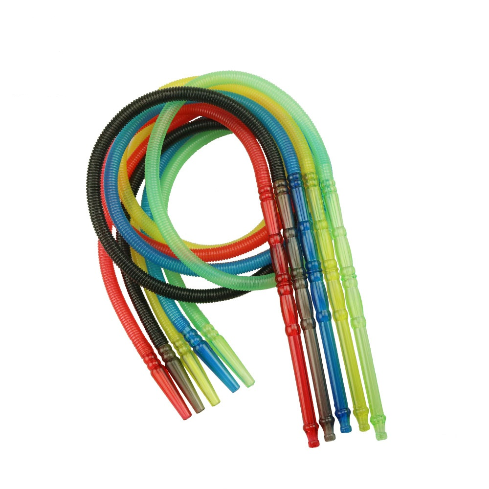 1pc Total Length 1.5m Pageant Colorful Shisha Pipe Long Mouth Pipes Hookah Hose Accessories Plastic Pipe