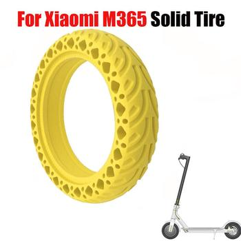 Suitable for Xiaomi M365 electric scooter8.5 inch wear-resistant honeycomb shock absorber pattern tire durable rubber solid tire suitable for xiaomi m365 electric scooter solid honeycomb explosion proof stab proof tire free inflatable rubber tire 8 5 2 0