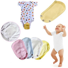 1Pc Lovely Baby Boys Girls Kids Jumpsuit Diaper Lengthen Extender Extension Solid Soft Jumpsuit Bodysuit Extender Baby Clothing