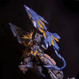 Image 3 - MGJ รุ่น DE SHIELD พร้อมสำหรับ Bandai 1/60 PG RX 0 Unicorn Banshee Phenex FA Plan B GUNDAM DM025