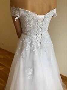 Image 4 - Eleganckie suknie wieczorowe Off the shoulder długie w magazynie formalne suknie na przyjęcie zasznurować/zamek vestidos de noite robe longue