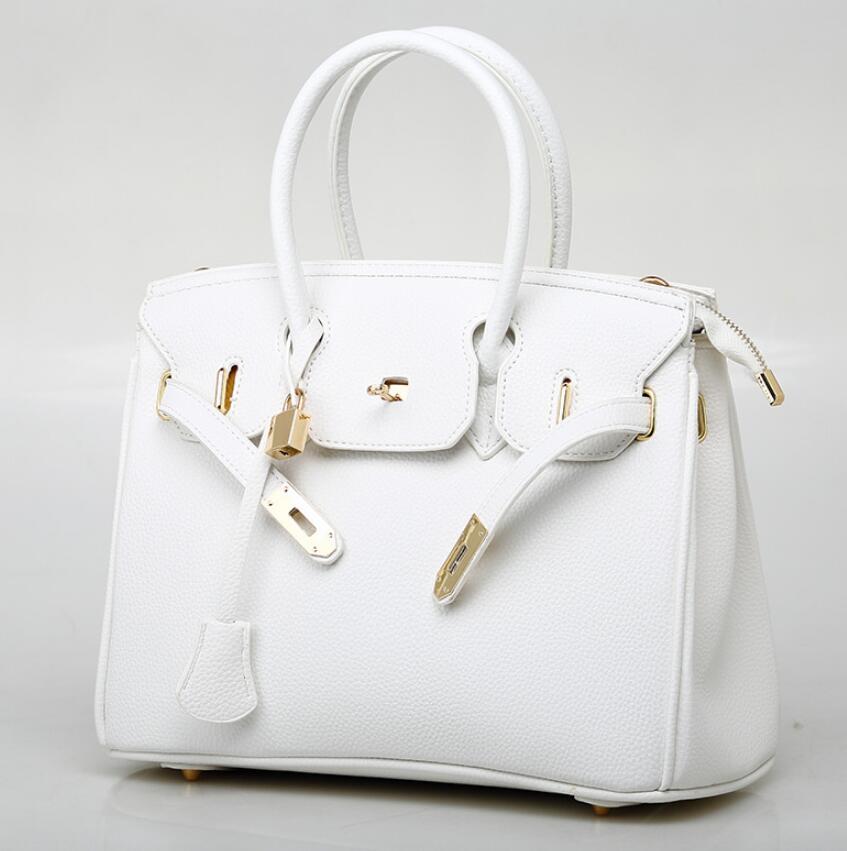 Hot 2020 New Women's Bag Fashion Lychee Pattern Platinum Bag Diagonal Cross Single Shoulder Women's Handbag