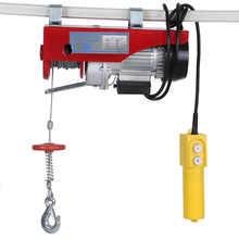 220v 100/200kg cabo elétrico talha de levantamento de fio pendurado guindaste plugue da ue