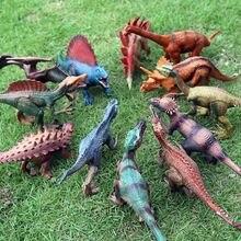 Oenux-figura de acción de dinosaurio Jurásico de PVC sólido, modelo de dinosaurio World Park t-rex, Pterosaurio Spinosaurus, juguete para chico