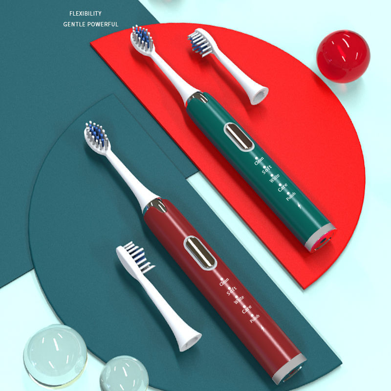 mi xi ya Electric Toothbrush Adult Soft Bristle Fully Automatic Male Women's USB Rechargeable Waterproof Mute Sonic Toothbrush