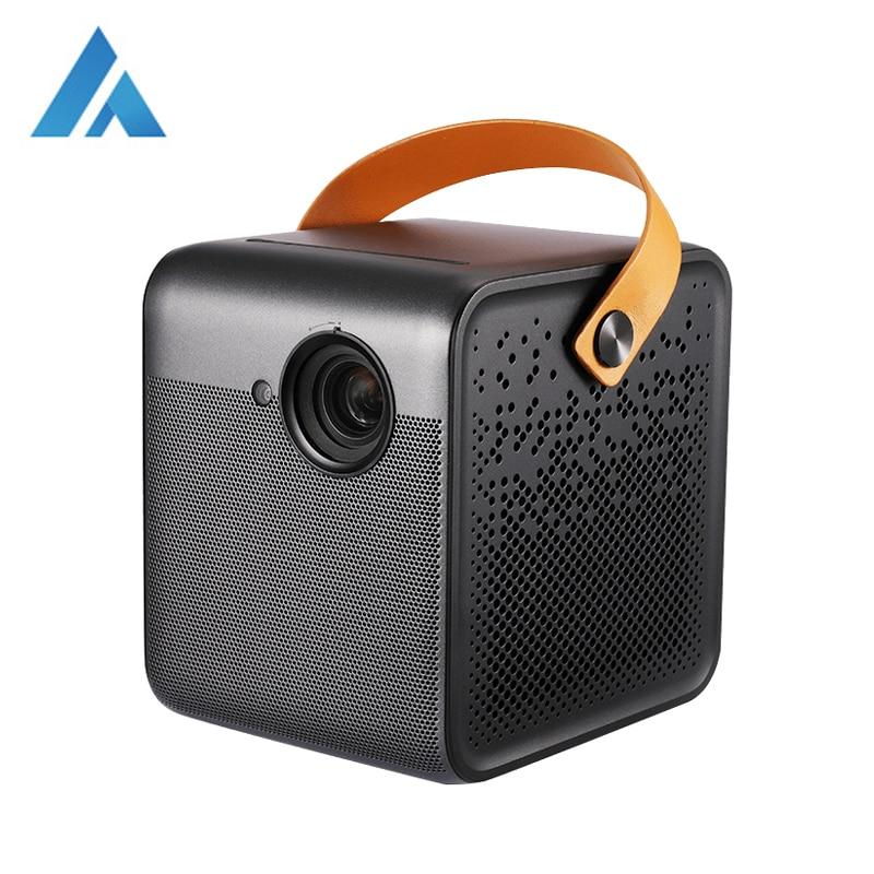 Fengmi-proyector inteligente 1080P, DLP, 700 lúmenes ANSI, 2GB + 16GB, Android, Wifi, batería, compatible con proyector 4K para cine en casa