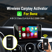 Carlinkit 2.0 sans fil CarPlay activateur Dongle pour Benz A B classe C câblé à sans fil voiture jouer IOS 14 Plug And Play Auto Conect