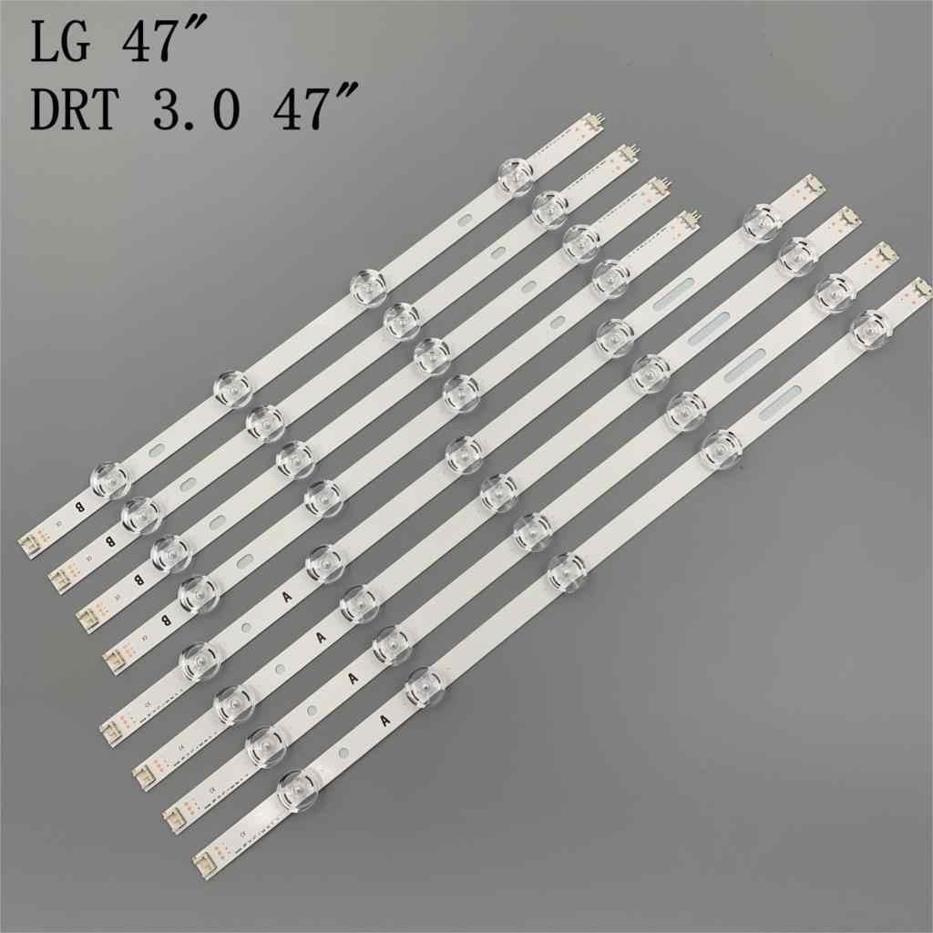 "98Cm 9Leds Voor Led Backlight Lg 47 Inch Tv Innotek Drt 3.0 47 ""_ A/B type 47LB6300 47GB6500 47lb653v 6916L 1948A 1949A"