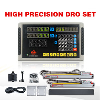 hxx hot sale milling lathe DRO digital readout and 2 pieces 0-1000mm linear scale