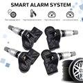 4 шт. 3AA907275 3AA907275B 3AA907275D для Volkswagen CC Tiguan система контроля давления в автомобильных шинах датчик 433 МГц датчик TPMS