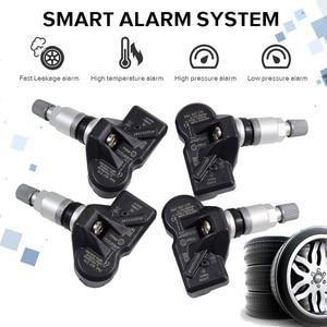 Image 1 - 4Pcs 3AA907275 3AA907275B 3AA907275D For Volkswagen CC Tiguan Car Tire Pressure Monitoring System Sensor 433Mhz TPMS Sensor