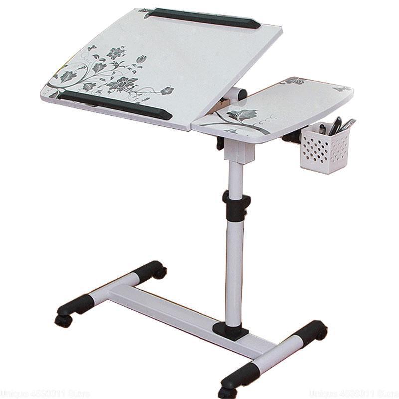 Cheap Computer Desk Height-Adjustable Laptop Table Folding Lazy Notebook Table Lift Bedside Table Modern Sofa Side Desk