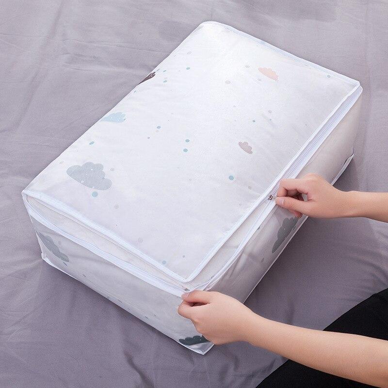Подкладки для хранения вакуумные пакеты для одежды постельные принадлежности шкаф для одеял Органайзер коробка, мешочек шкаф с отделкой контейнер для гардероба ноль отходов - Цвет: A4