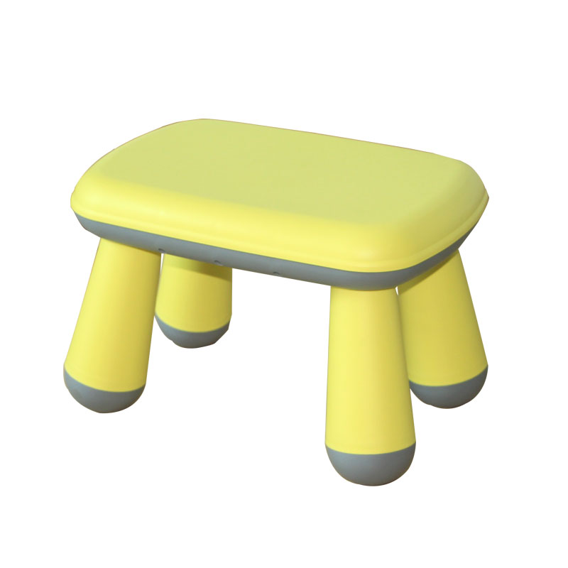 Household Children's Dining Benches Cartoon Assembly Plastic Benches Creative Benches Shoe-changing Low Benches Anti-skid Small