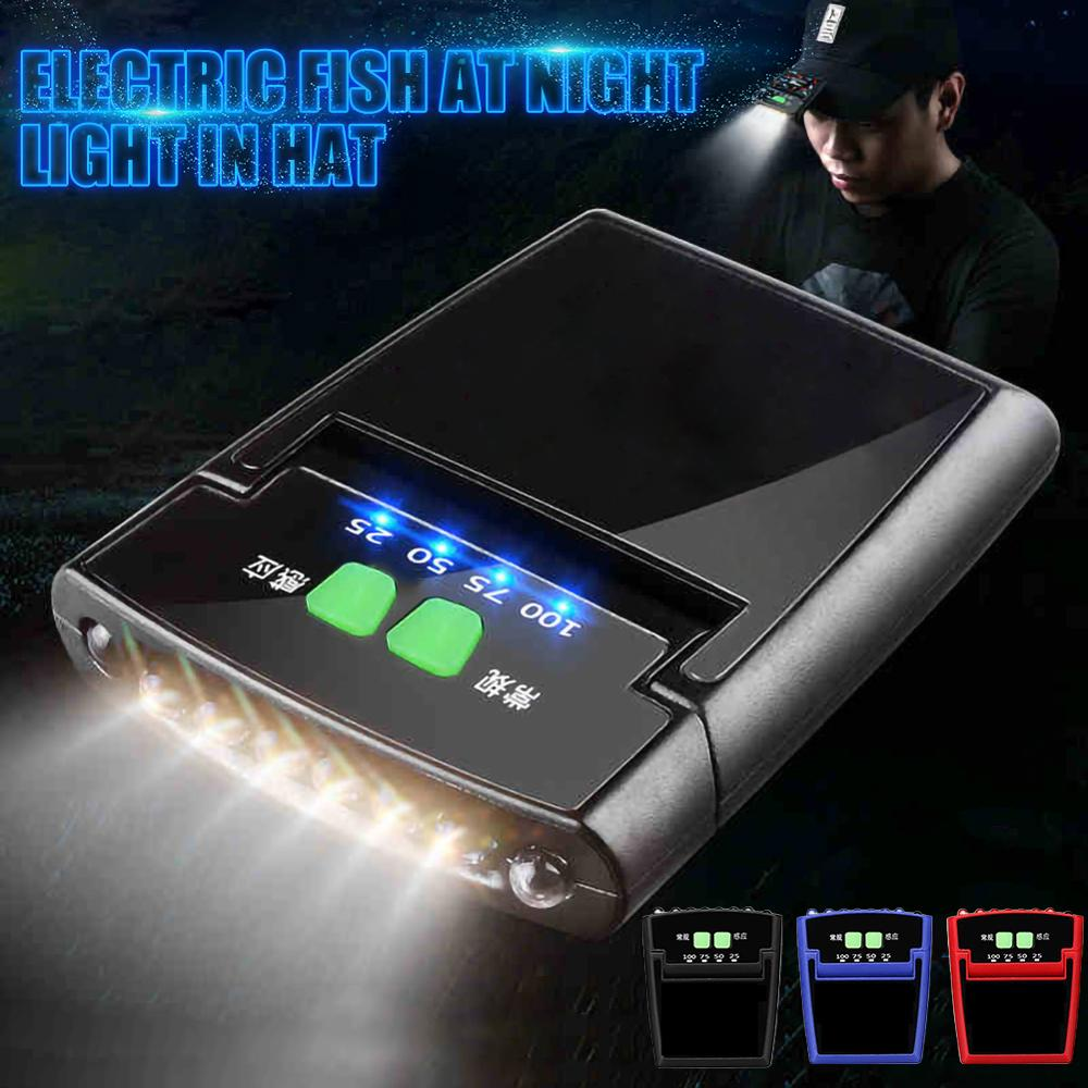 USB Rechargeable Body Motion Sensor LED Headlamp Hat Clip Light Adjustable Fishing Lamp Cap Waterproof Built-in Lithium Battery