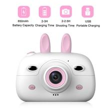 Children Mini Camera HD 1080P 18MP 2.4 Inch Cute Cartoon Cam