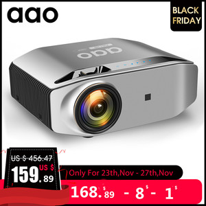 Image 1 - AAO Native 1080p מלא HD מקרן YG620 LED Proyector 1920x1080P 3D וידאו YG621 אלחוטי WiFi רב מסך מקרן קולנוע ביתי