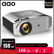 Aaoネイティブ1080 1080pフルhdプロジェクターYG620 led proyector 1920 × 1080 1080p 3DビデオYG621ワイヤレスwifiマルチ画面ビーマーホームシアター