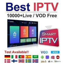 цена на Europe IPTV Poland Sweden Norway Germany Finland Spain Portugal IPTV M3u Subscription Denmark EXYU Turkey IP TV 1Year 4K Android