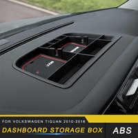 Car Dashboard Storage Box Trim for Volkswagen Tiguan 2010 2011 2012 2013 2014 2015 2016
